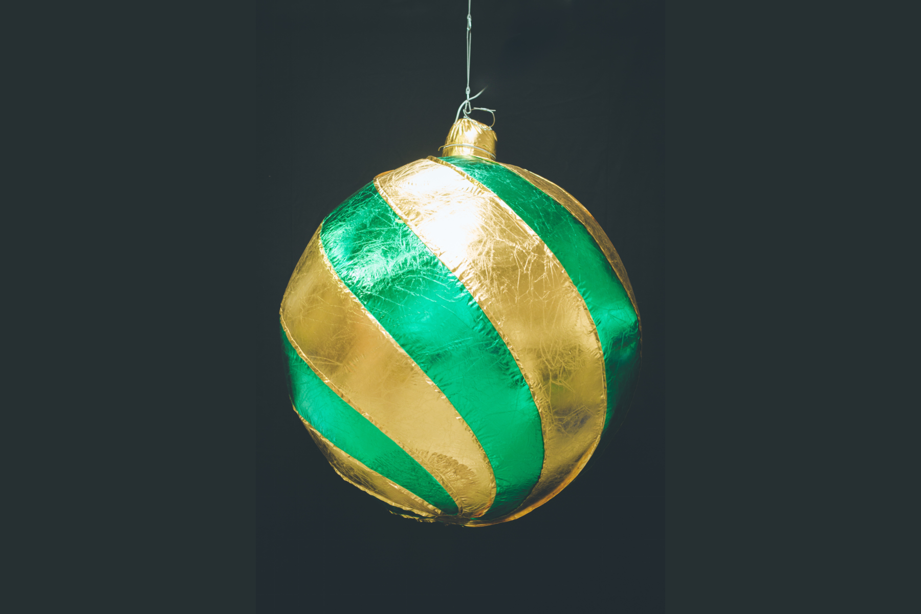 Inflatable Green Bauble
