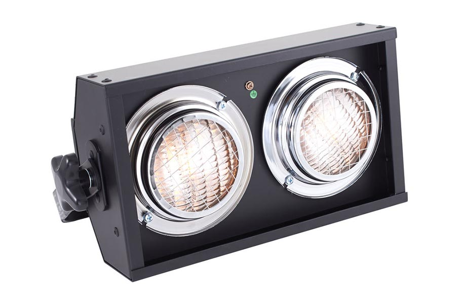 Showtec 2 Cell Active Stage Blinder DMX Left