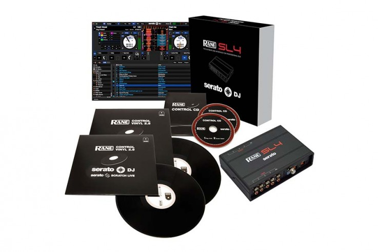 Rane Serato SL4 With control vinyl + CDs