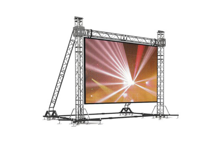 Video Wall Truss Structure and Rigging (Outdoor)