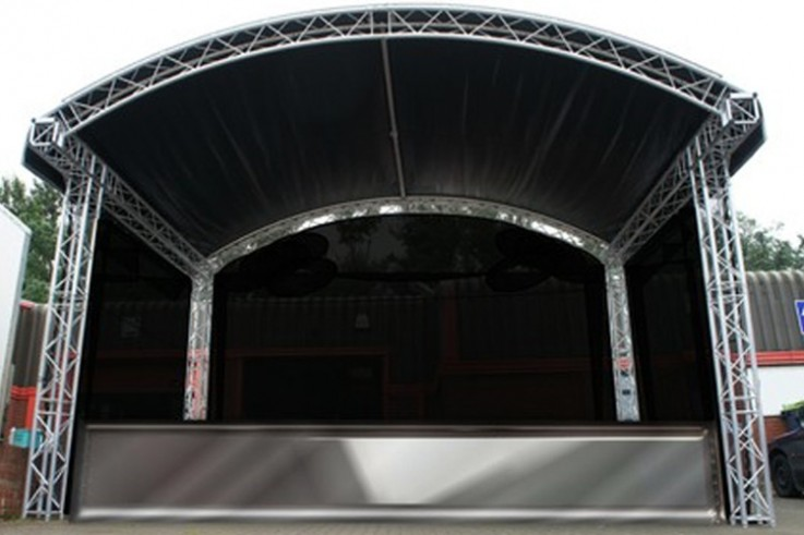 Arc Roof Stage Structure