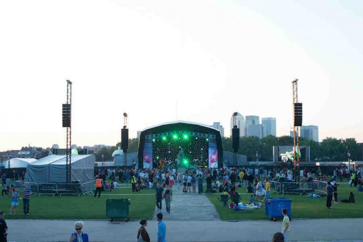 bt river of music greenwich london event mgmt contract