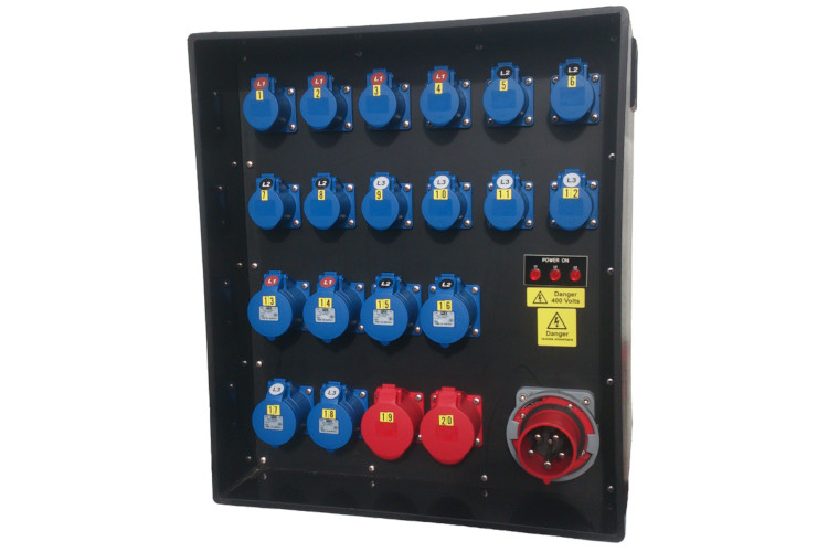125 Amp 3 Phase Distribution Board