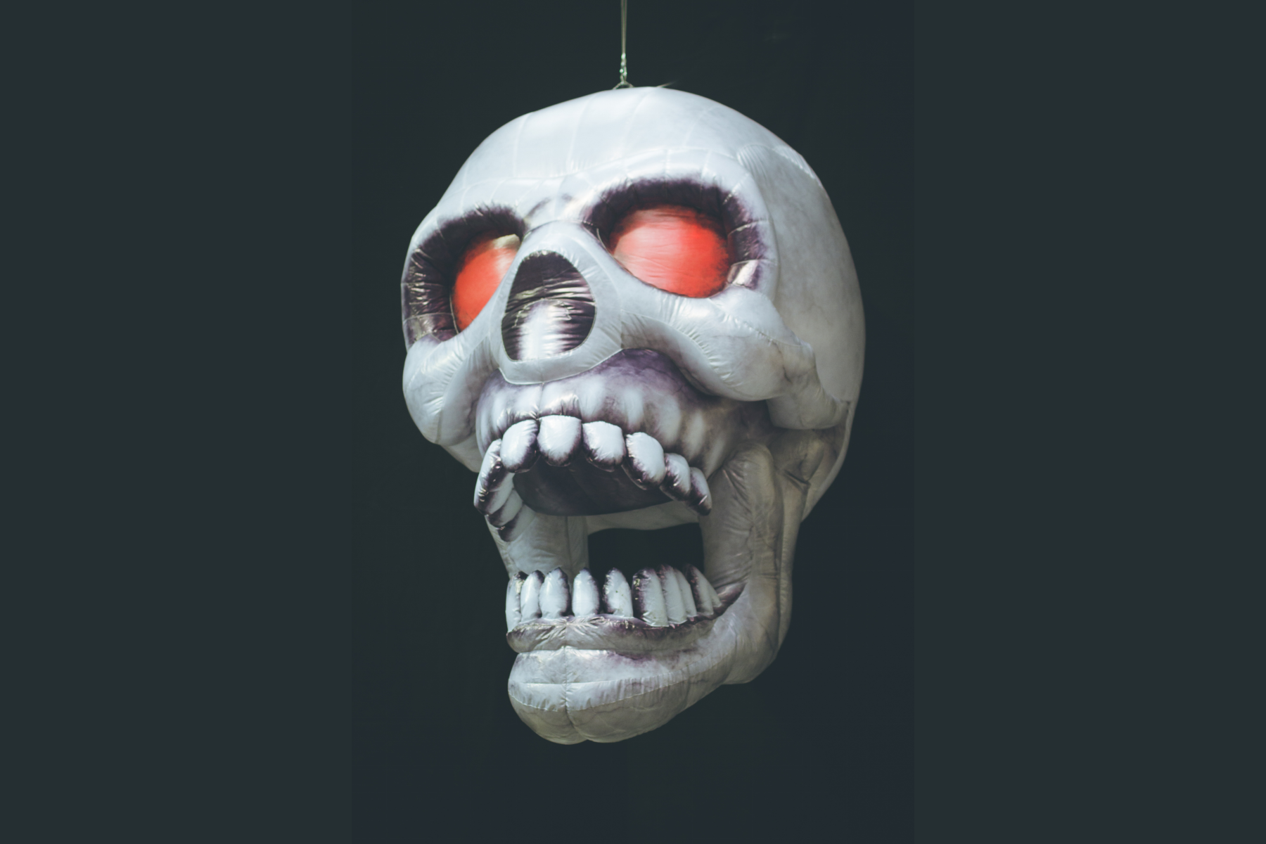 Inflatable Skull