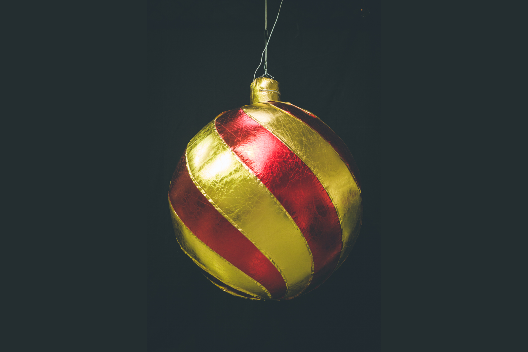 Inflatable Red Bauble