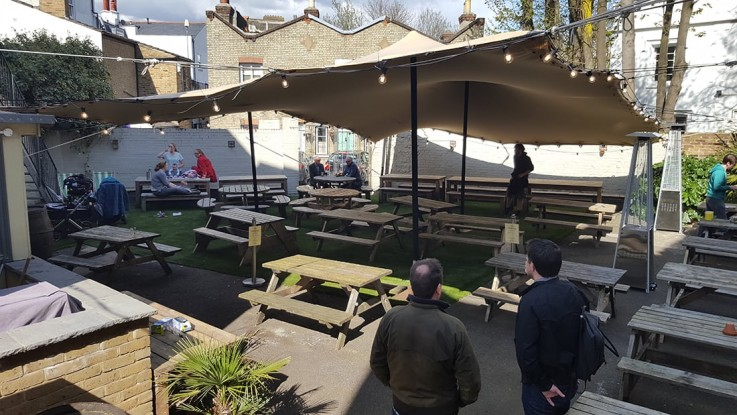 pub beer garden crystal palace chino stretch tent lg