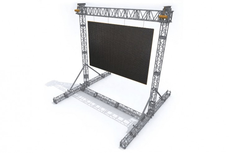 okoru outdoor video wall rental service london bristol