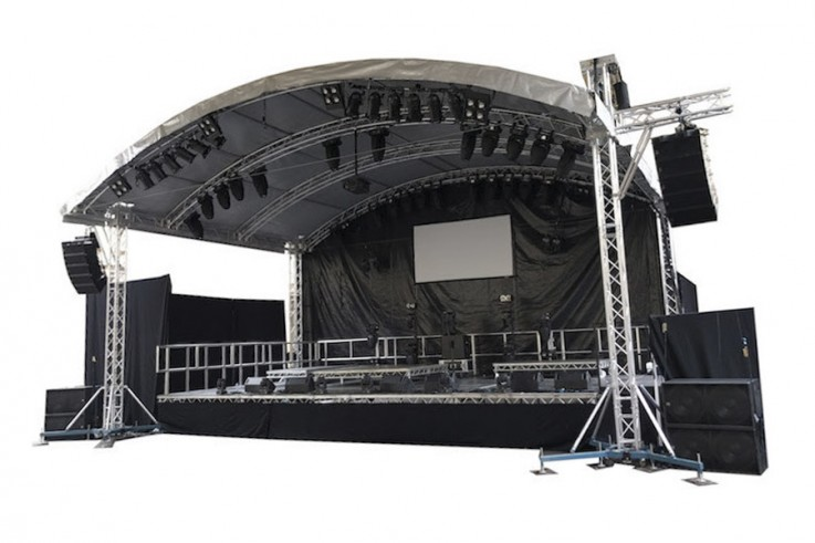 okoru event hire stage bristol london