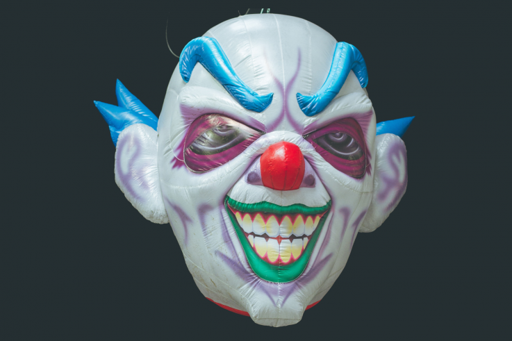 Inflatable Clown Head
