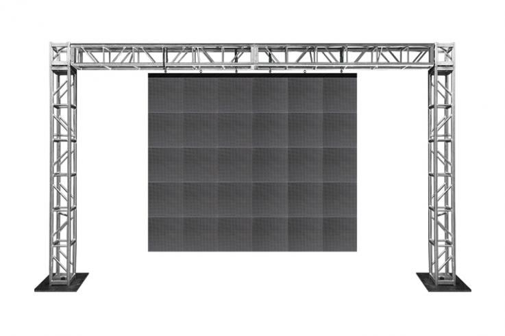 Video Wall Truss Structure and Rigging indoor