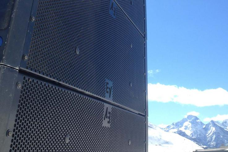 ev line array bristol