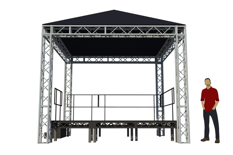 okoru-event-hire-service-bristol-stage-truss-deck-hip-roof