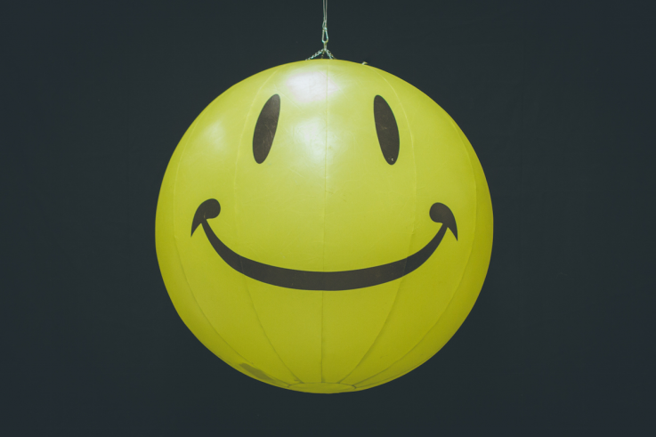 Inflatable Smiley Face
