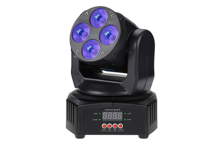 Sound to light moving head