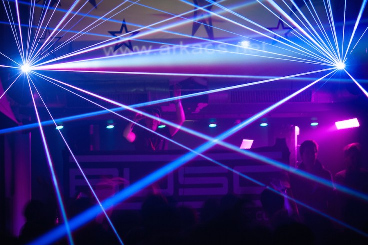 laser show hire bristol rent production
