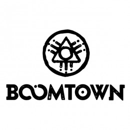 boomtown logo okoru events
